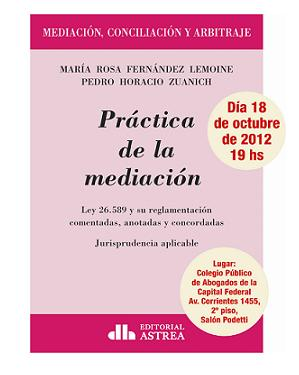 Recomendación Bibliografica: Práctica de Mediación