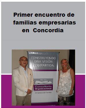 Jornadas sobre Empresas de Familia en Concordia · Entre Rios