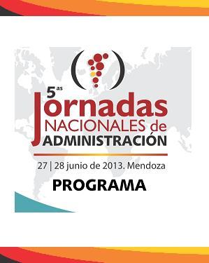 5ta Jornadas Nacionales de Administración.