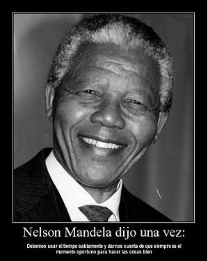 Adiós a un líder como Nelson Mandela. Sus frases son también para las familias empresarias