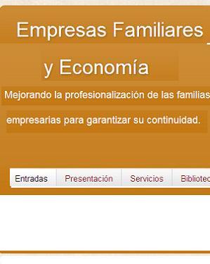 Empresas Familiares y Economía