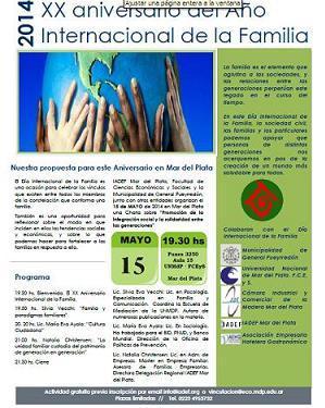 Charla Delegación Regional Mar del Plata