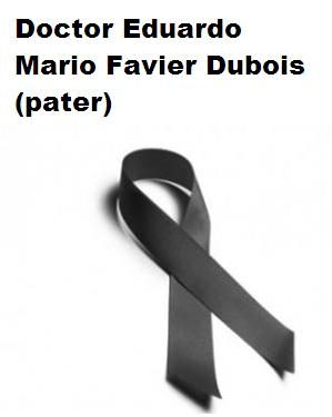"Sentido Adiós al ""Pater"" Favier Dubois"