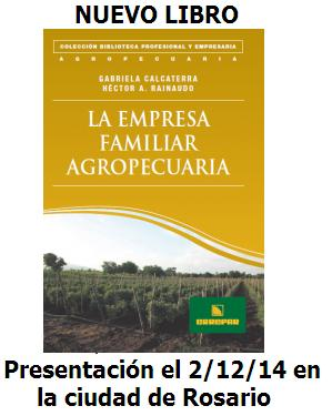 LIBRO: La Empresa Familiar Agropecuaria
