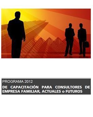 Programa de Capacitación para Consultores de Empresa Familiar, actuales o futuros