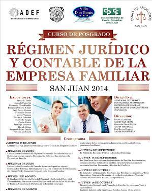 Posgrado · Régimen Jurídico y Contable de la Empresa Familiar